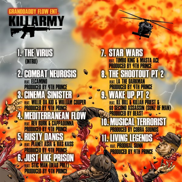 Killarmy - Full Metal Jackets Back